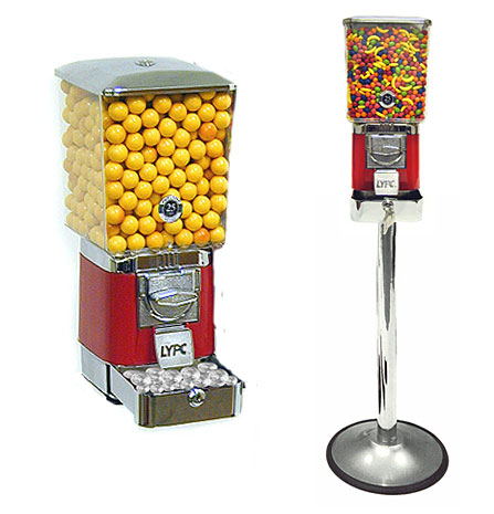 lypc tripleshop bulk candy gumball  vending machine